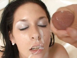 Wild Tia Thomas enjoys getting her shaven pussy slammed