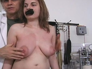 Girl assents to be tied up for the first time